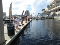 Casting practice at the Tampa Boat Show_resize