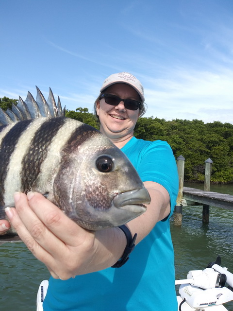 Kelly Tarr Sheepshead w Rob Fussnecker_resize