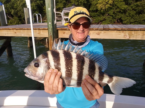 Tonya White Sheephead w Rob Fussnecker_resize