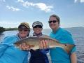 A Tonya White, Robin Krueger angler, Kelly Tarr redfish w Rob Fussnecker_resize