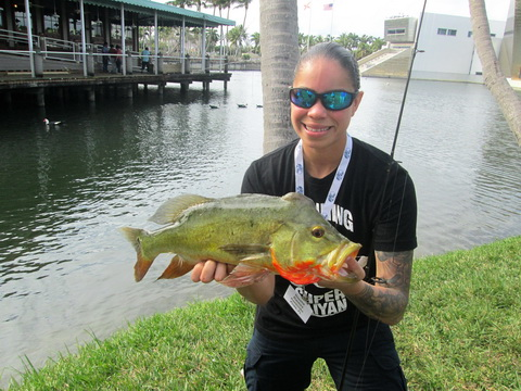 Naysha Ramos Pembroke Pines FL peacock bass_resize