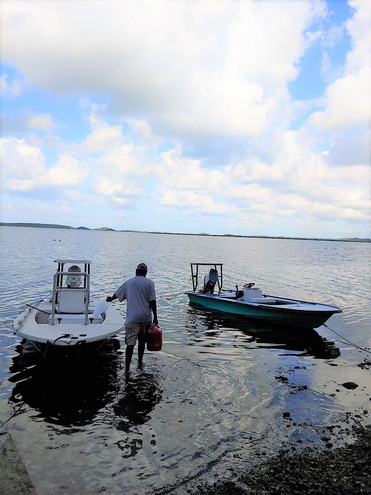 Bonefish-boats