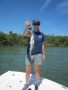 Erin Howell with trout on Jon Fetter's boat_resize