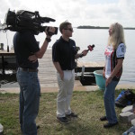 CBS WINK TV interviews Betty Bauman