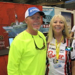 Betty with Fishing TV Star Rick Murphy