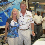 Betty with Guy Harvey