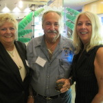 Betty & Ron Schachter and lovely wife, renowned world wide for his fishing abilities