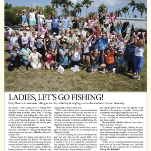 Kayak Angler Magazine Features LLGF