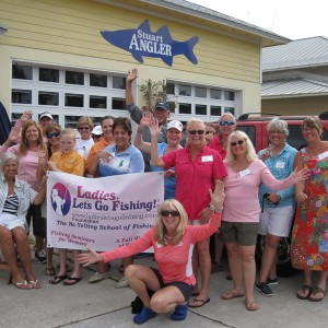 Fun at the Ladies, Let's Go Fishing Surf Casting Clinic in Stuart