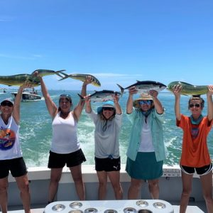 Winners of Ladies, Let's Go Fishing Screamin' Reels Tournament Aug. 14-16, 2020 Islamorada, FL
