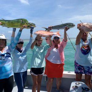 225 Fish Caught at Ladies, Let's Go Fishing Screamin' Reels Tournament June 11-13, Islamorada, FL